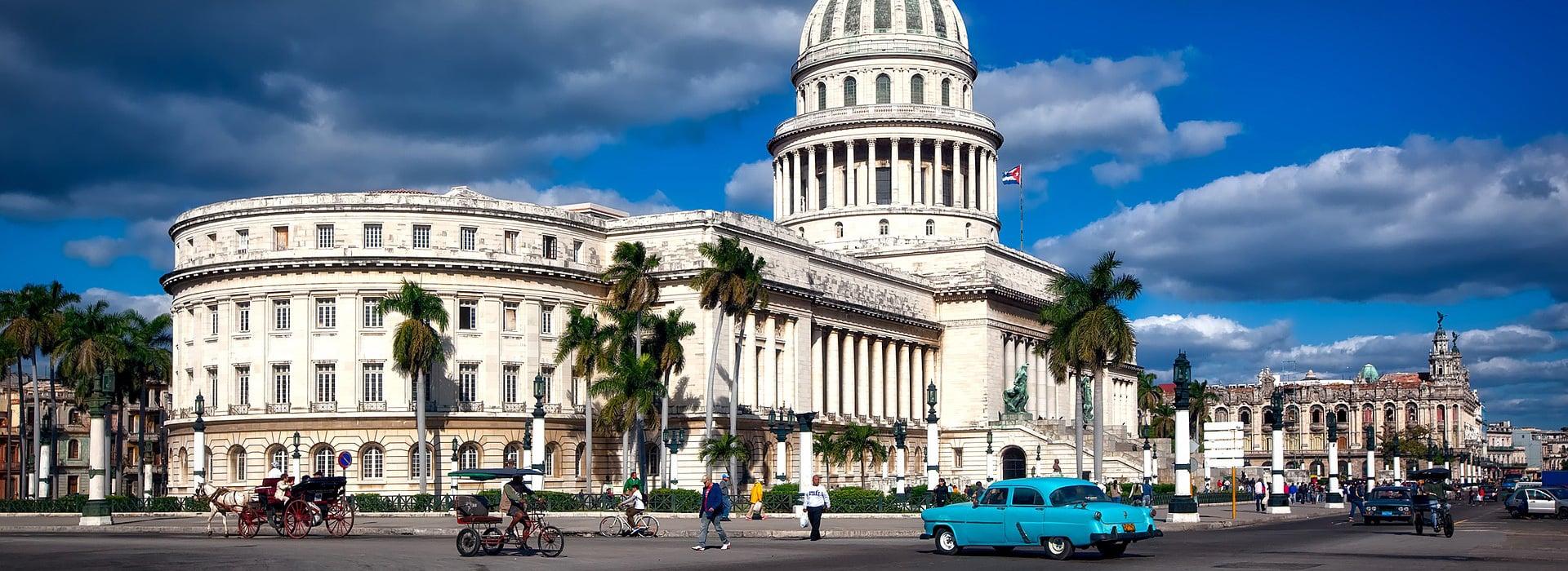 Hlavní kubánské město Havana