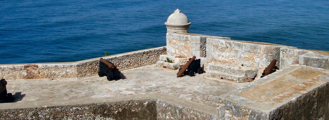 Kubánské město Santiago de Cuba