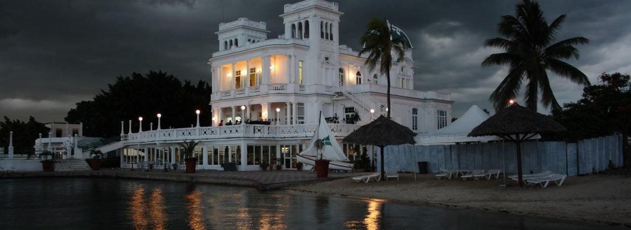 Kubánské město Cienfuegos
